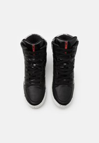 F_WD - Sneakers hoog - black iridescent/lentic dark grey - 3