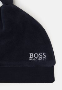 BOSS Kidswear - PULL ON HAT BABY UNISEX - Mössa - navy