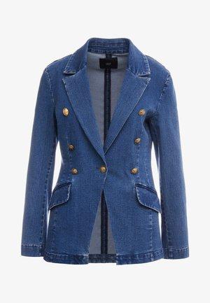 BROOKLYN HIP - Giacca di jeans - blue denim