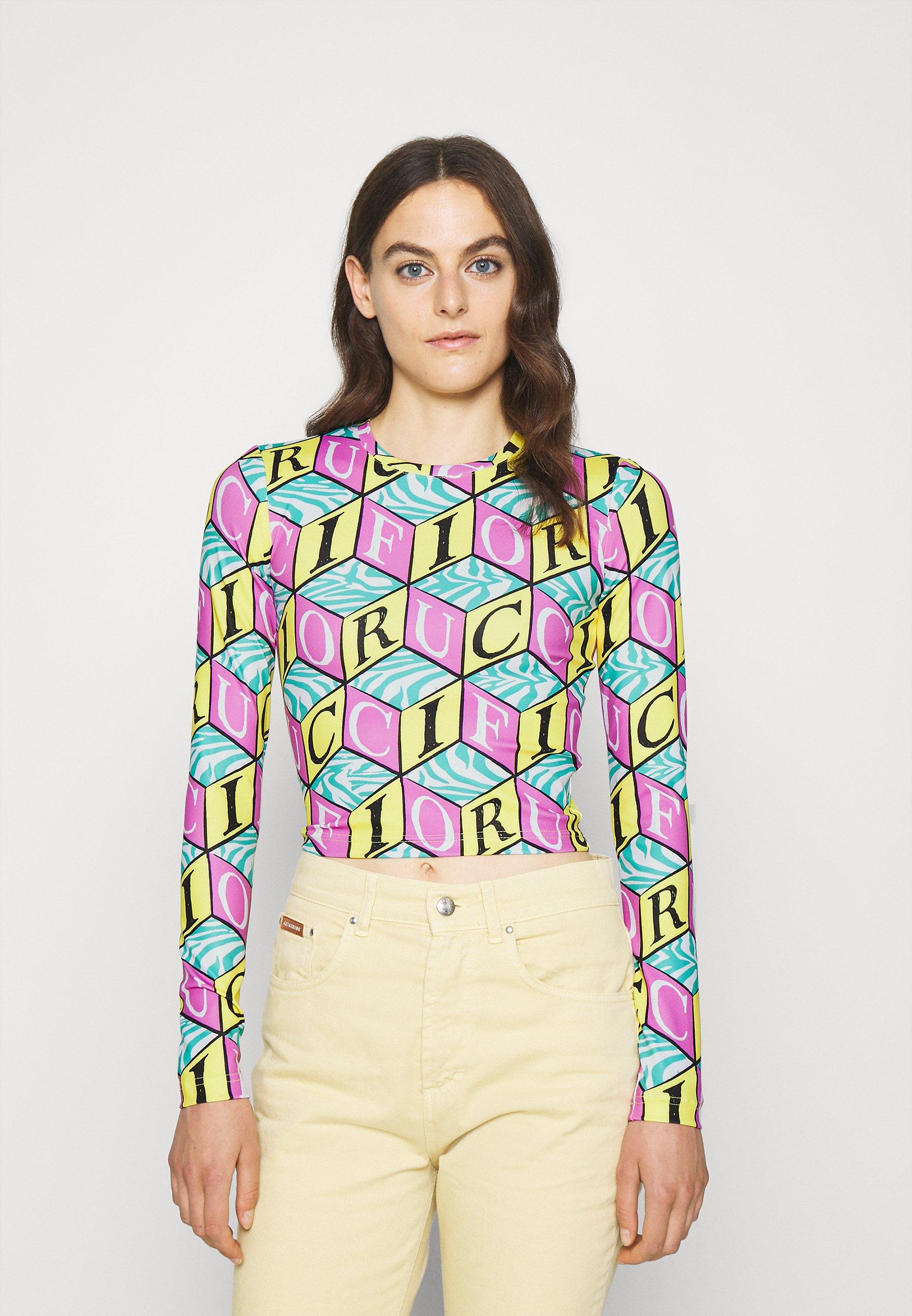 Women CUBIC MONOGRAM - Long sleeved top