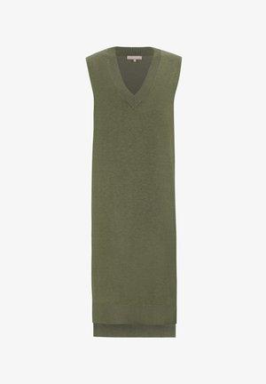 MARLA  - Jumper dress - olive drab melange