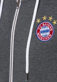 FC Bayern München - CLASSIC  - Zip-up sweatshirt - anthrazit - 2