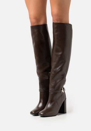 EXCLUSIVE BOOT - Over-the-knee boots - ebony