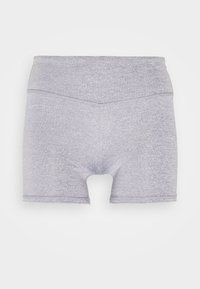 HIGHWAISTED SHORTIE SHORT - Tights - charcoal marle