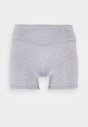 SHORTIE SHORT - Leggings - charcoal marle