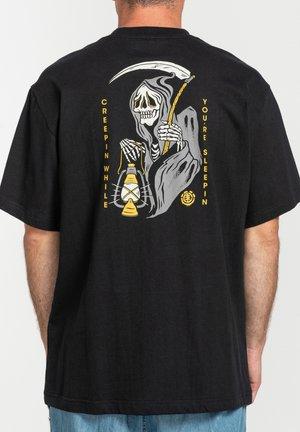 POTTER - T-shirt print - flint black