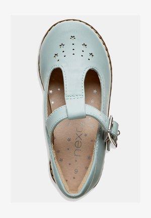 STAR CHARM - Ankle strap ballet pumps - mint