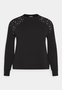 ONLY Carmakoma - CARETTA  - Sweatshirt - black - 4