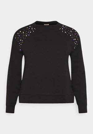 CARETTA  - Sweatshirt - black