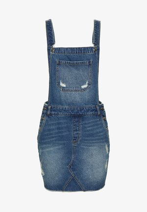 ONLSKY AUTHENTIC SPENCER DRESS - Vestido informal - dark blue denim