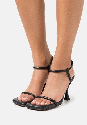 CECIL PADDED ANKLE STRAP - Sandales à talons hauts - black