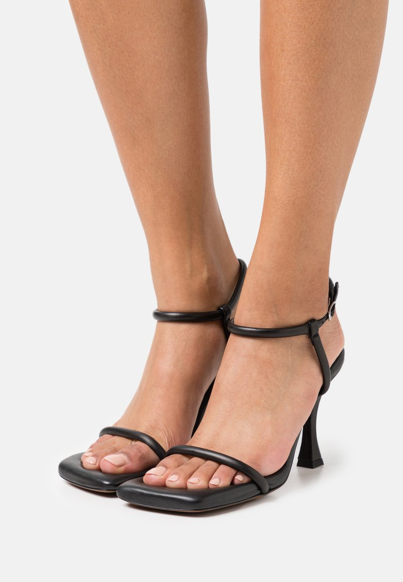 Proenza Schouler - CECIL PADDED ANKLE STRAP - High heeled sandals - black