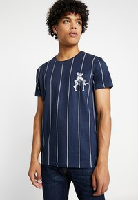Amsterdenim - PRIDE - T-shirt con stampa - navy - 0