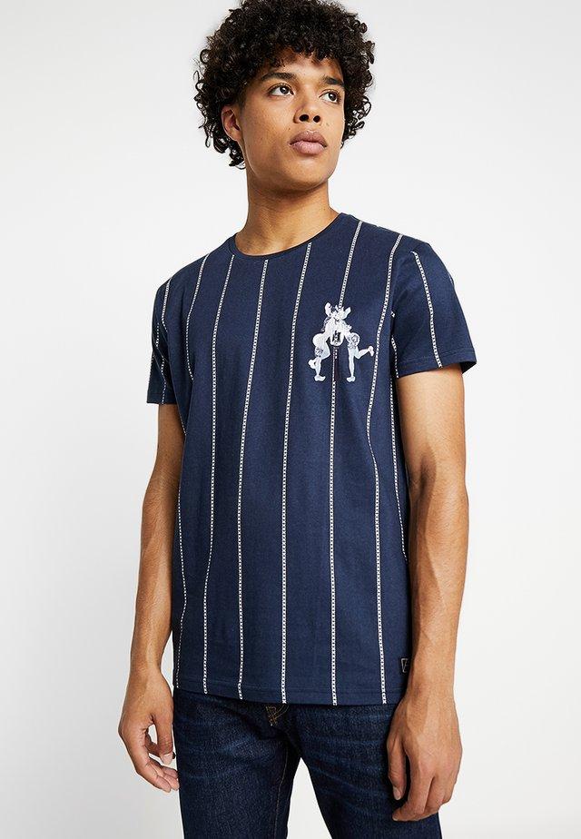 PRIDE - Print T-shirt - navy