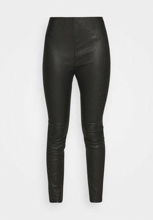 Leggings - Hosen - black