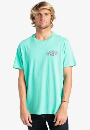 GANG OF GANGS - Print T-shirt - light aqua