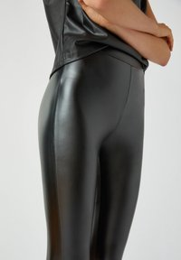 PULL&BEAR - Leggings - Trousers - black - 4
