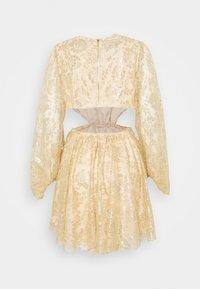 Alice McCall - MAGIC THINKING MINI DRESS - Koktejlové šaty/ šaty na párty - gold - 1
