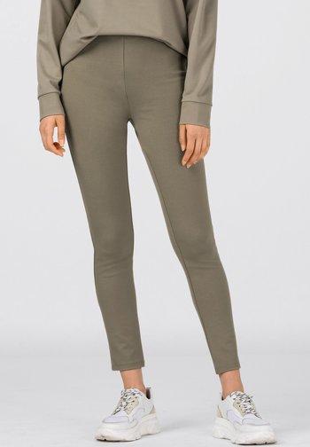 aus Interlock - Leggings - Trousers - salbei