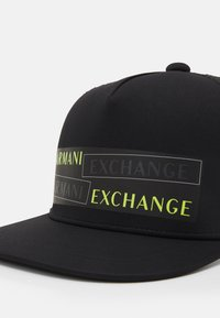 Armani Exchange - RAPPER GLOW IN THE DARK - Cap - nero - 3