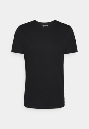 JORMOD TEE CREW - Basic T-shirt - black