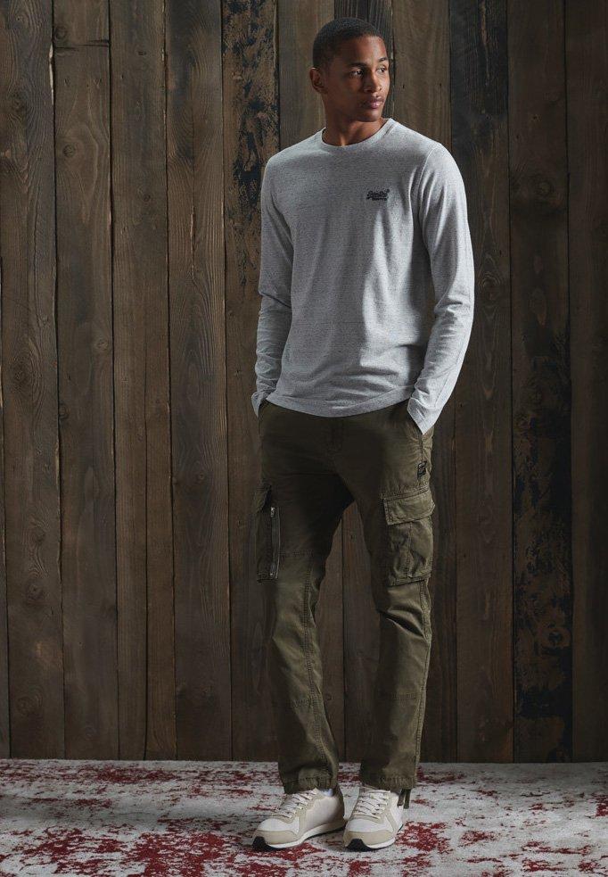 Men VINTAGE EMB LS  - Long sleeved top