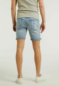 CHASIN' - Denim shorts - light blue - 1
