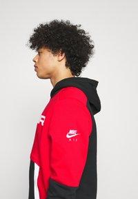 Nike Sportswear - AIR HOODIE - Hoodie - university red/black/white - 3