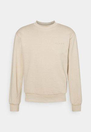 BULKY CREW - Sweater - sand