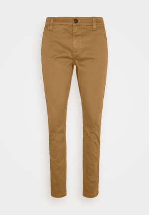 SKINNY CHINO - Chino - brown