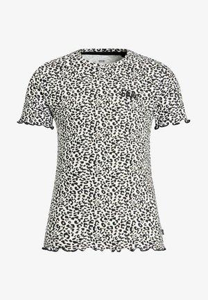 MET PANTERDESSIN - Print T-shirt - black