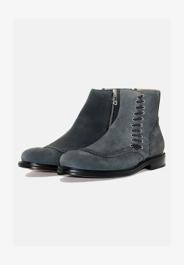 Bottines à lacets - grey