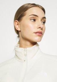 The North Face - WOMENS GLACIER FULL ZIP - Fleecejakker - vintage white - 3