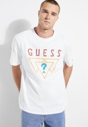 IMPRIME - T-shirt con stampa - white