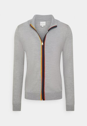 GENTS ZIP THRU - Gilet - grey
