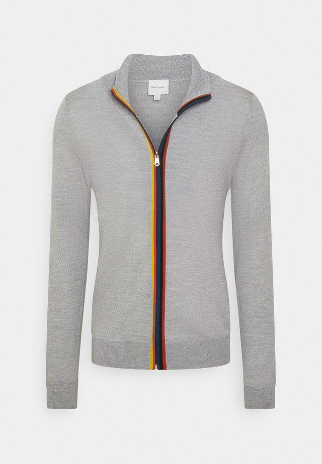 GENTS ZIP THRU - Vest - grey