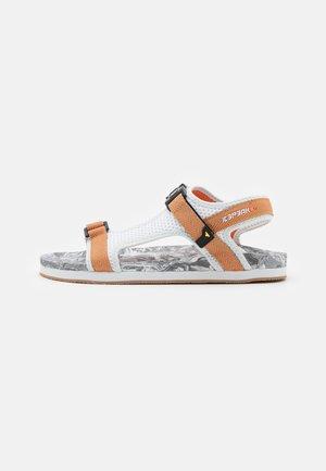 ARAL MS - Chodecké sandály - optic white