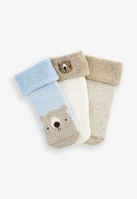 Next - 3 PACK  - Socks - light brown - 4