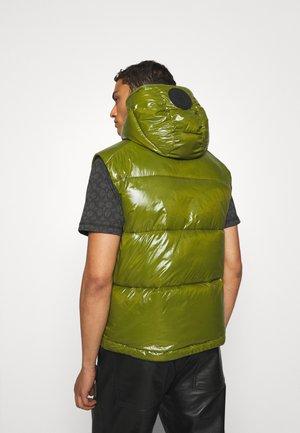 DEXTER - Waistcoat - cedar green
