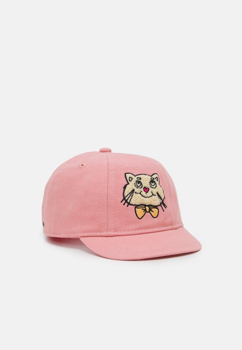 Mini Rodini - CAT UNISEX - Kšiltovka - pink