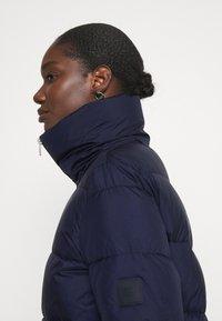 Marc O'Polo DENIM - LONG PUFFER COAT - Winter jacket - scandinavian blue - 3