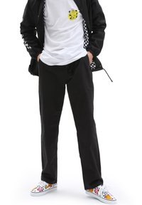 Vans - MN RANGE RELAXED ELASTIC PANT - Trousers - black - 0