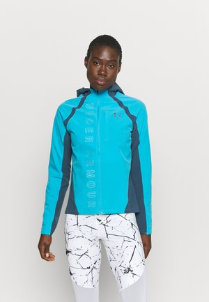 OUTRUN THE STORM  - Laufjacke - equator blue