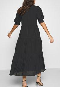 Never Fully Dressed - PANEL MAXI DRESS - Denní šaty - black - 3