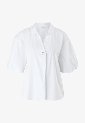 IM LOOSE FIT - Button-down blouse - white