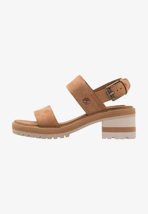 VIOLET MARS 2 BAND SANDAL - Sandals - rust