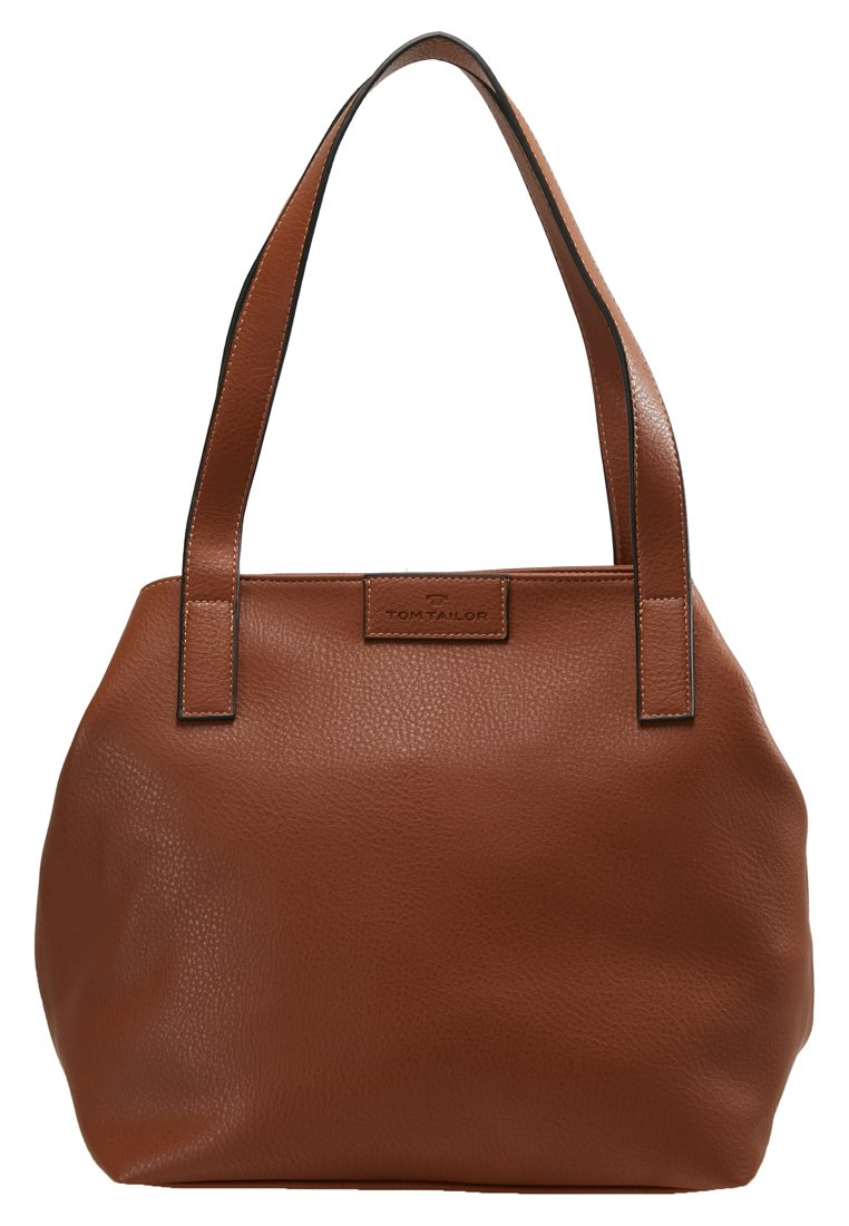 Tom Tailor Miri Zip - Shopping Bag Cognac