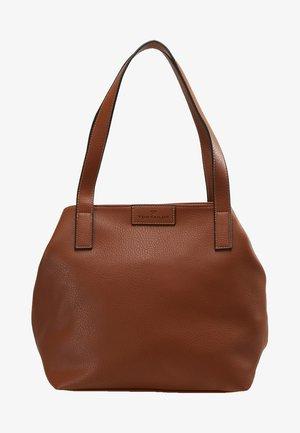 MIRI ZIP  - Tote bag - cognac