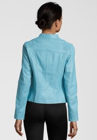 KRISS - PAULINA - Leren jas - blue - 1