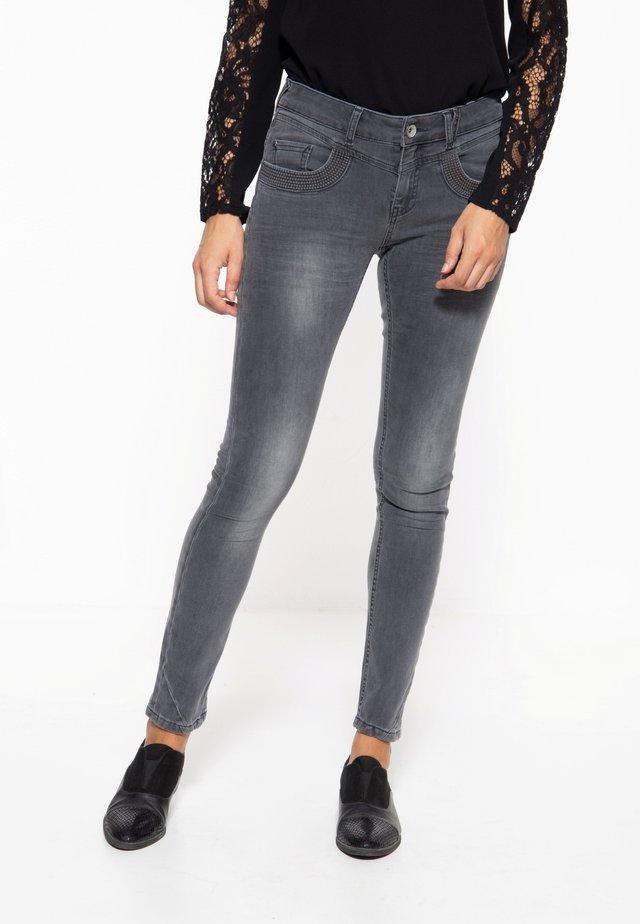 5-POCKET  - Slim fit jeans - grau